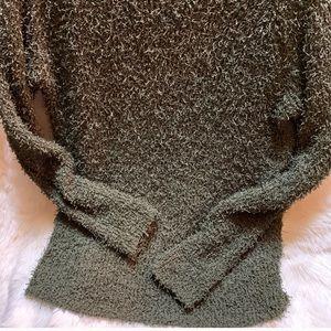 BB Dakota Sweaters - BB Dakota Shyla Ragland sweater fuzzy knit sweater
